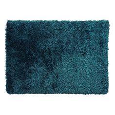 Sorrento Luxury Shaggy Rug Turquoise 150cmx220cm