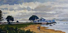 Phil Dickson - artist based in Lower Hutt Valley, Wellington, New Zealand New Zealand Art, Art Academy, Art Club, Community Art, Watercolor, Gallery, Artist, Painting, Pen And Wash