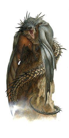 ArtStation - Aymeric le dragon, Loïc CANAVAGGIA