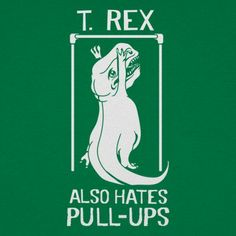 Rex is strictly a cardio bro! Funny Shirt T-Rex Short Arms Dinosaur Professionally printed silkscreen. Ships within 2 business days. Designed and printed in the USA. Funny Tees, Funny Tshirts, Crossfit Shirts, Crossfit Humor, Dinosaur Funny, Tiny Dinosaur, Cartoon Dinosaur, T Rex Humor, Hand Of The King