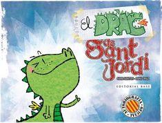 "Care Santos / Dani Cruz. ""El drac de sant Jordi·. Editorial Base Tapas, Editorial, Fictional Characters, Base, Products, Saints, Saint George, Dragons, Reading"