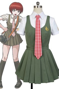 Super DanganRonpa Mahiru Koizumi Cosplay Costume For Women Girls #Affiliate
