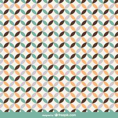 Retro mosaic background Free Vector