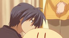 """Oh, it smells like Nagisa"" 
