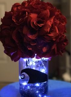 Halloween wedding and event centerpiece by Cupcake Centerpieces, Wedding Table Centerpieces, Wedding Flower Arrangements, Wedding Flowers, Wedding Stuff, Dream Wedding, Floral Wedding Cakes, Wedding Cupcakes, Simple Weddings