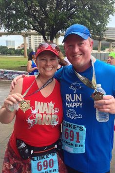 Patty and Rob (Sparkle Supporter)- Wounded Warrior Dallas 10K