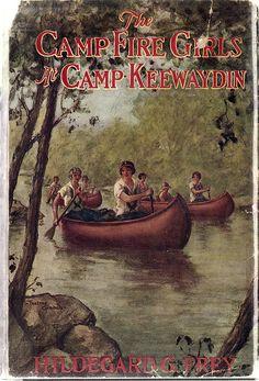 The Campfire Girls at Camp Keewaydin