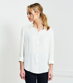 Brass Clothing - The Button Down Blouse