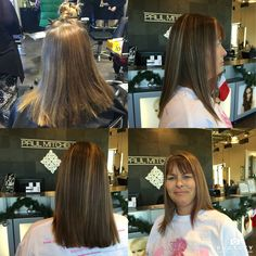 Hair color by Kayla