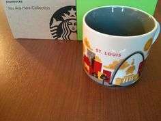 Starbucks Tasse/Mug St. Louis, USA - You Are Here Collection