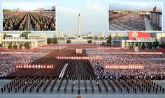 North Korea holds mass rally to celebrate nuclear missile test #Daily Mail