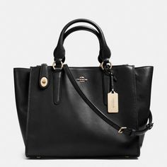 The Crosby Carryall In Leather from Coach- This looks like a great choice for business.