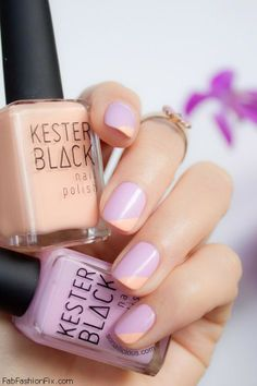 Pastel nails perfect for spring, lilac, nude nail color, nails, short nails, romantic, colors