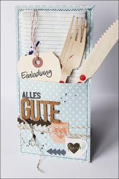 Für meine liebe Freundin Katja habe ich zum Geburtstag ein kleines Bestecktäschen gewerkelt, das ich euch heute zeigen möchte...   Hier h...