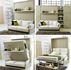 Couch Furniture, Space Saving Furniture, Furniture For Small Spaces, Furniture Design, Furniture Ideas, Trendy Furniture, Interior Design Ideas For Small Spaces, Office Furniture, Murphy Furniture