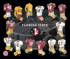 Florida State Seminoles Football Uniform and Team History   Heritage Uniforms and Jerseys