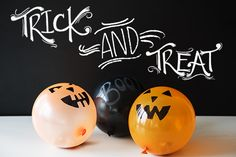 pumpkin balloon piñatas - chasing saturdays