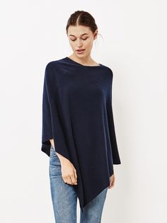 Women's Plain Poncho