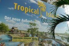 Erweiterung Tropical Island - Neuer Aussenbereich mit einer Größe von rund 35.000 Quadratemetern