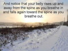Guided Exercise: Belly Breath.