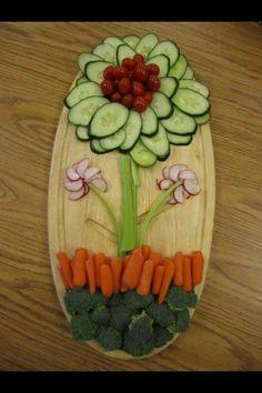 Great vegetable display.