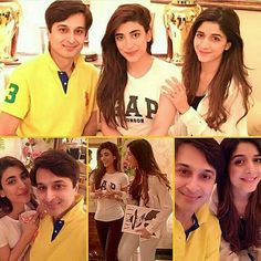 Mawra Hussain and Urwa Hussain Pakistani actress