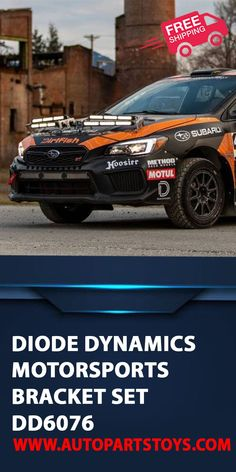 Designed for racing. The Motorsports LED Light Bar Kit from Diode Dynamics allows you to mount up to four SS12 Stage Series 12 Inch Light Bars or SS18 Stage Series 18 Inch Light Bar on the hood of your vehicle. Sport Cars, Luxury Cars, Car Interior Accessories, Supercars, Diode Dynamics Motorsports! #car #motorsports #supercars #sportcars #autoparts