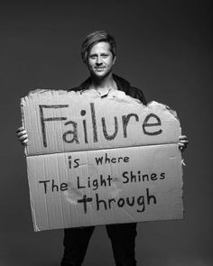 Failure is where the light shines through - Switchfoot