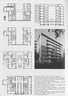 Villa Savoye Floor Plan Dwg >> Giuseppe Terragni - Danteum (1942, Unbuilt ...