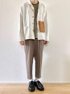 📷Instagram…@kon_kokon_kokokon ユニクロのワークジャケットコーデ👌 Normcore, How To Wear, Instagram, Style, Fashion, Moda, Stylus, Fasion, Trendy Fashion
