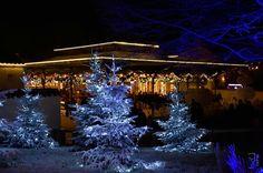 Décoration de Noël au Puy du Fou