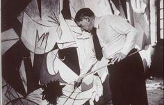 Picasso paint Guernica