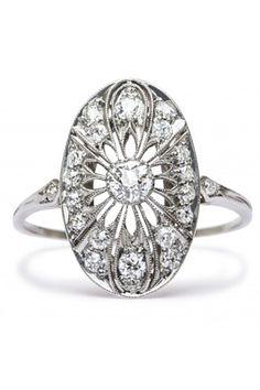 So unique! 20 Engagement Rings For Unique Brides #refinery29  http://www.refinery29.com/58904#slide16