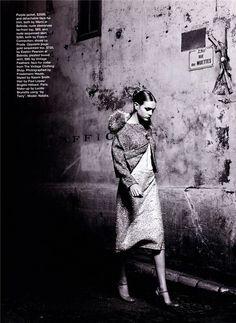 Belle De Nuit | Natalia Vodianova | Friedemann Hauss #photography | Marie Claire Australia March 2001