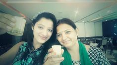 Richa Panai With her Mother