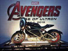 @Avengers It's Black Widow's new ride in #AgeOfUltron, revealed by @harleydavidson at the #MarvelSDCC booth! #ProjectLiveWire