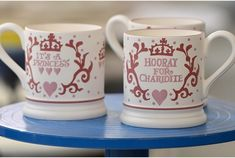 Emma Bridgewater has announced they will be doing a Charlotte mug.