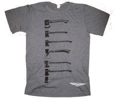 "Doomtree ""axes"" shirt"