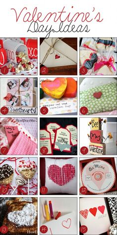 Over 50 Valentine's Day Ideas.  They are Sweet!