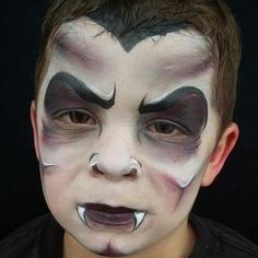 On The Job Dracula by Melissa Perez Dracula Face Paint, Tvar, Painting Inspiration, Bobs, Halloween Face Makeup, Faces, Projects, Ideas, Log Projects