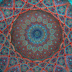 One of the Domes of Shah Jehan Mosque (Thatta), Pakistan