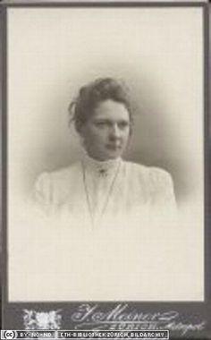 Marie Jerosch (später Brockmann-Jerosch), Studienkollegin von Laura Hezner, 14. August 1901 (ETH-Bibliothek, Bildarchiv, Portr_13847)