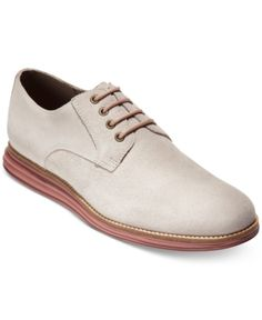 7aadfff0d2a1 Cole Haan Men s OriginalGrand Plain-Toe Oxfords - Tan Beige 10