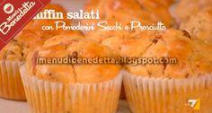 Muffin Salati con Pomodorini e Prosciutto