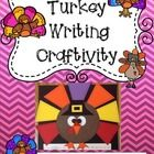 $Thanksgiving Turkey Craftivity with a Variety of Writing Options