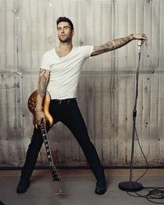"""Adam Levine: """"There's two kinds of men. There are men who are f------ misogynist pigs, and then there are men who just really love women, who think they're the most amazing people in the world. And that's me."""" SWOOON!"""