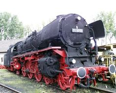 Darmstadt Railway Museum – Darmstadt, Germany   Atlas Obscura-01/10 class locomotives pull trains up to 110 mph
