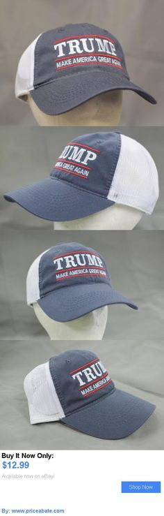 cd7b21b42e5 donald trump  Make America Great Again -Donald Trump Hat- Republican 2016  Grey Blue