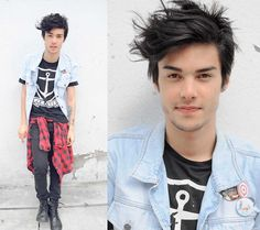 like my punk hair! The Last Summer, Mens Trends, Gentleman Style, Apparel Design, Fashion Beauty, Womens Fashion, Cool Outfits, Handsome, Model