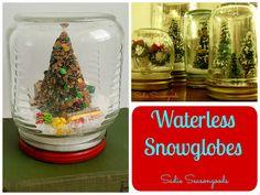 Wonderful Waterless Snowglobes